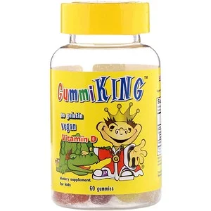 Gummiking Vitamin D For Kids 60 Gummies Iherb In 2020 Vitamins Childrens Vitamins Vegan Vitamins