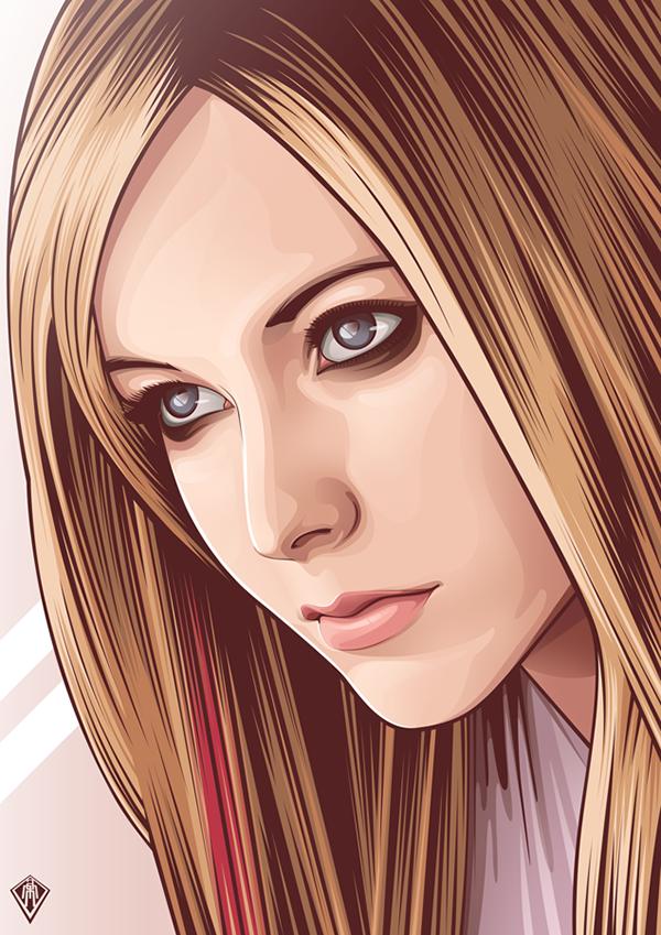 Vexel portrait compilation in 2014 Vector Vexel