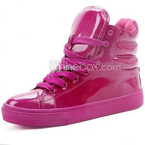 Zapatos Charol mujeres de la manera del color fluorescente Sneakers - USD $ 27.99