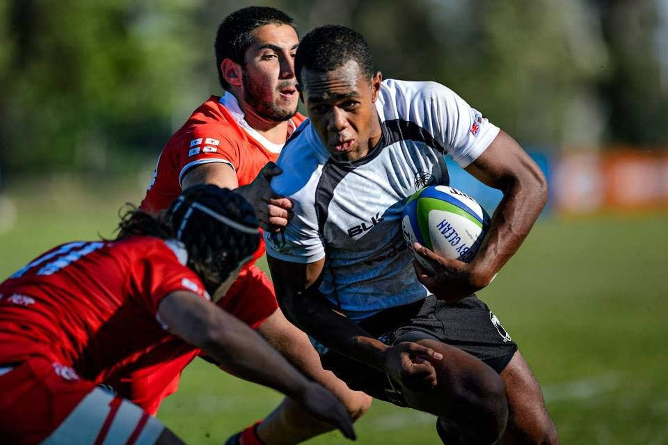 The Vodafone Fiji U20 team lost out in their second match against Georgia this morning 30-13. All rights reserved. Copyright © João Peleteiro 2015 www.jp-rugby.com www.instagram.com/jp_rugby