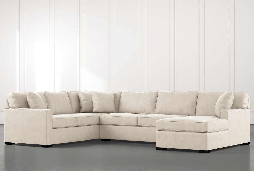 Alder Beige 3 Piece Sectional Sofa With Right Arm Facing Chaise 1590 3 Piece Sectional Sofa 3 Piece Sectional Sectional Sofa
