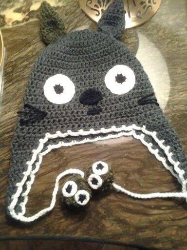 Gorro totoro tejido a crochet  662414a5ded