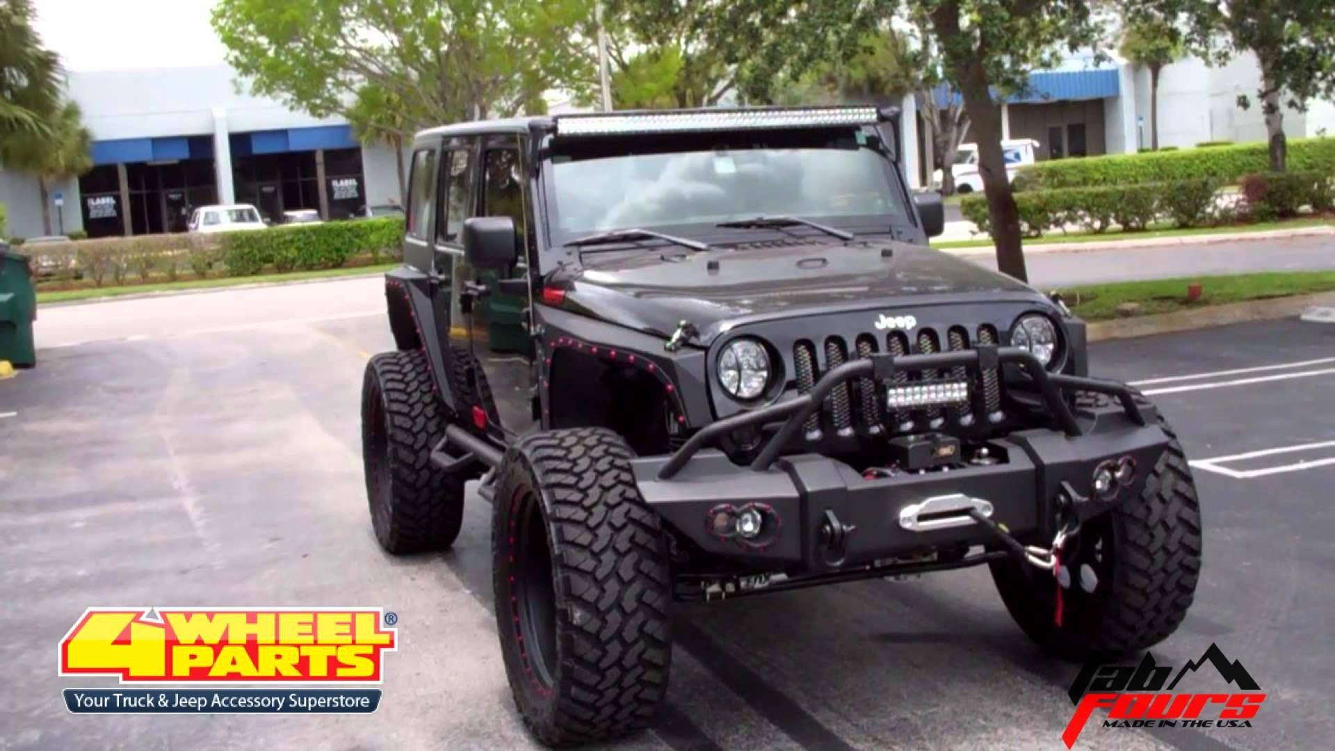 Jeep Jk Wrangler Parts Miami Fl 4 Wheel Parts Jeep Led Light Bar