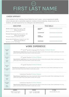Resume Examples That Stand Out Resume Examples Pinterest