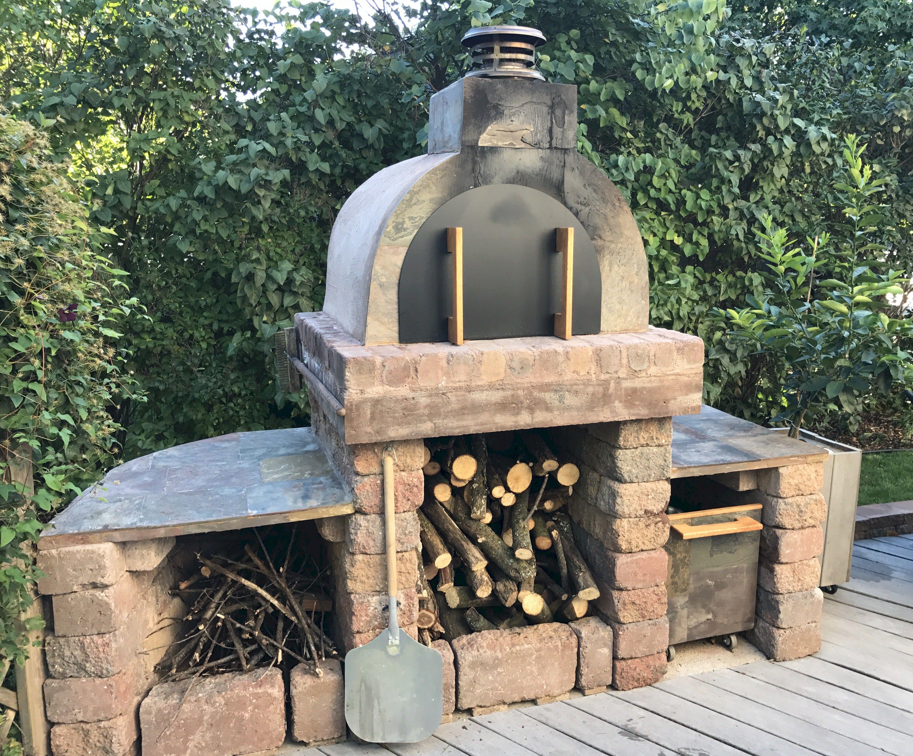 Diy brick oven schumack brick pizza oven outdoor