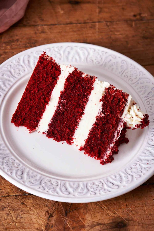 Keto Red Velvet Cake Just 2 Grams Carbs The Big Man S World Recipe In 2020 Red Velvet Cake Velvet Cake Cake Tasting