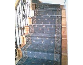 Entrance Foyer Staircase From Worldwide Wholesale Floor Coverings