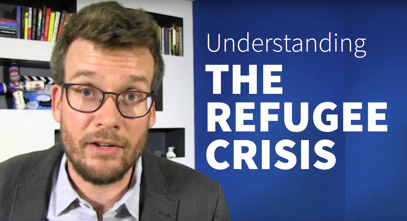 In Which John Green Discusses The Syrian Refugee Crisis