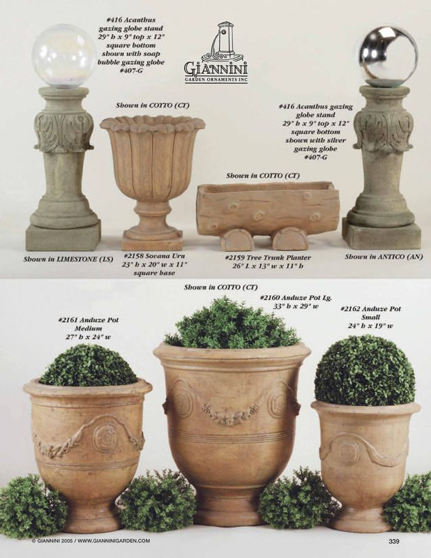 See Photos Of Cast Stone Garden Fountains, Planters, Statues And Garden  Benches. See Our Cast Stone Manufacturing Process And Showroom Photos.