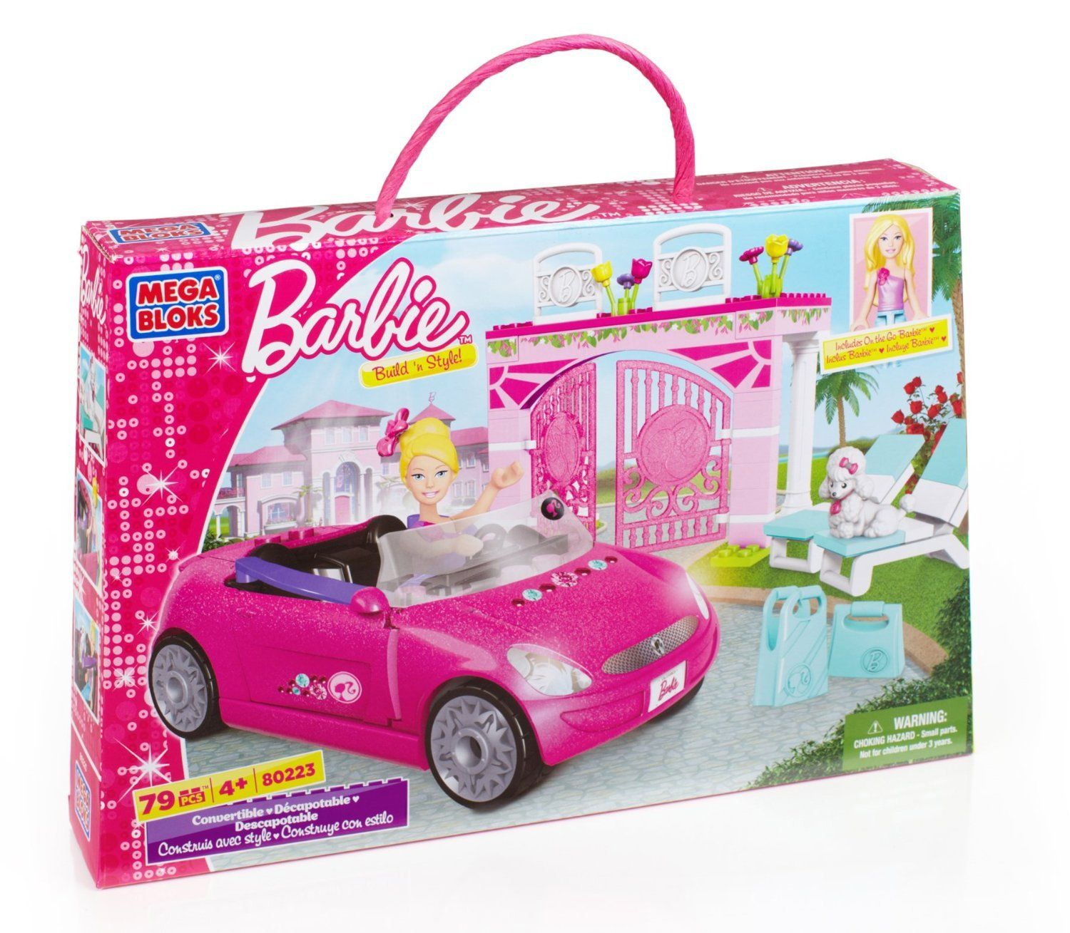 Bargain Mega Bloks Barbie Build N Style Convertible 9 99 At