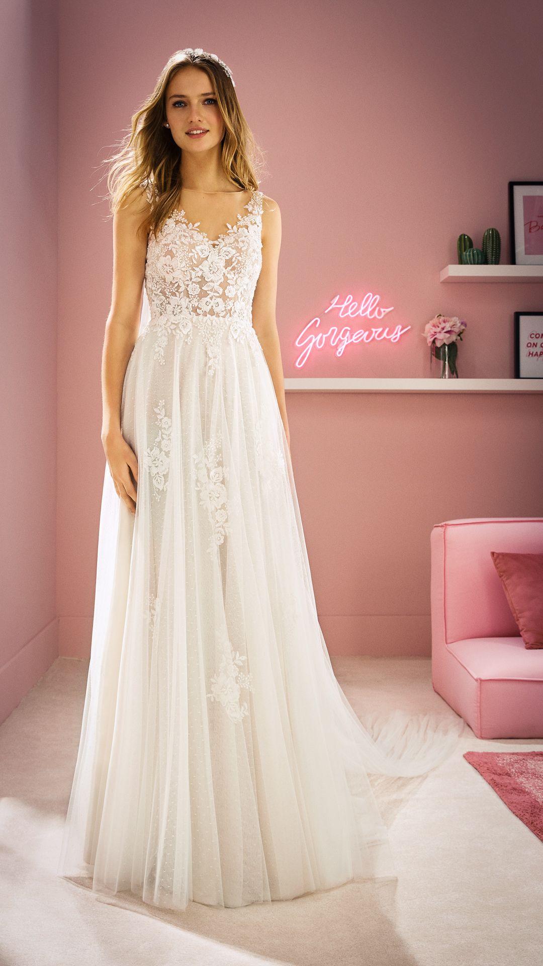 Hochzeitskleider 10 White One Kollektion Modell: MEGAN-B