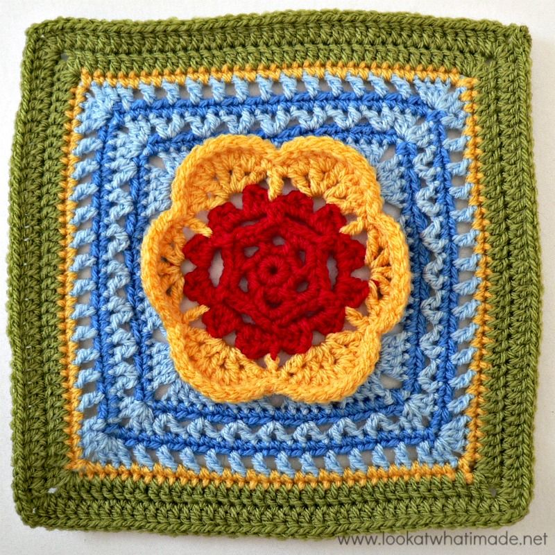 Block 12: Kaleidoscope Blossom {Photo Tutorial} – Look At What I ...