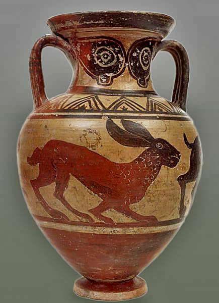 Bunnies Of Fortune Ancient Greek Pottery Greek Art Ancient Art