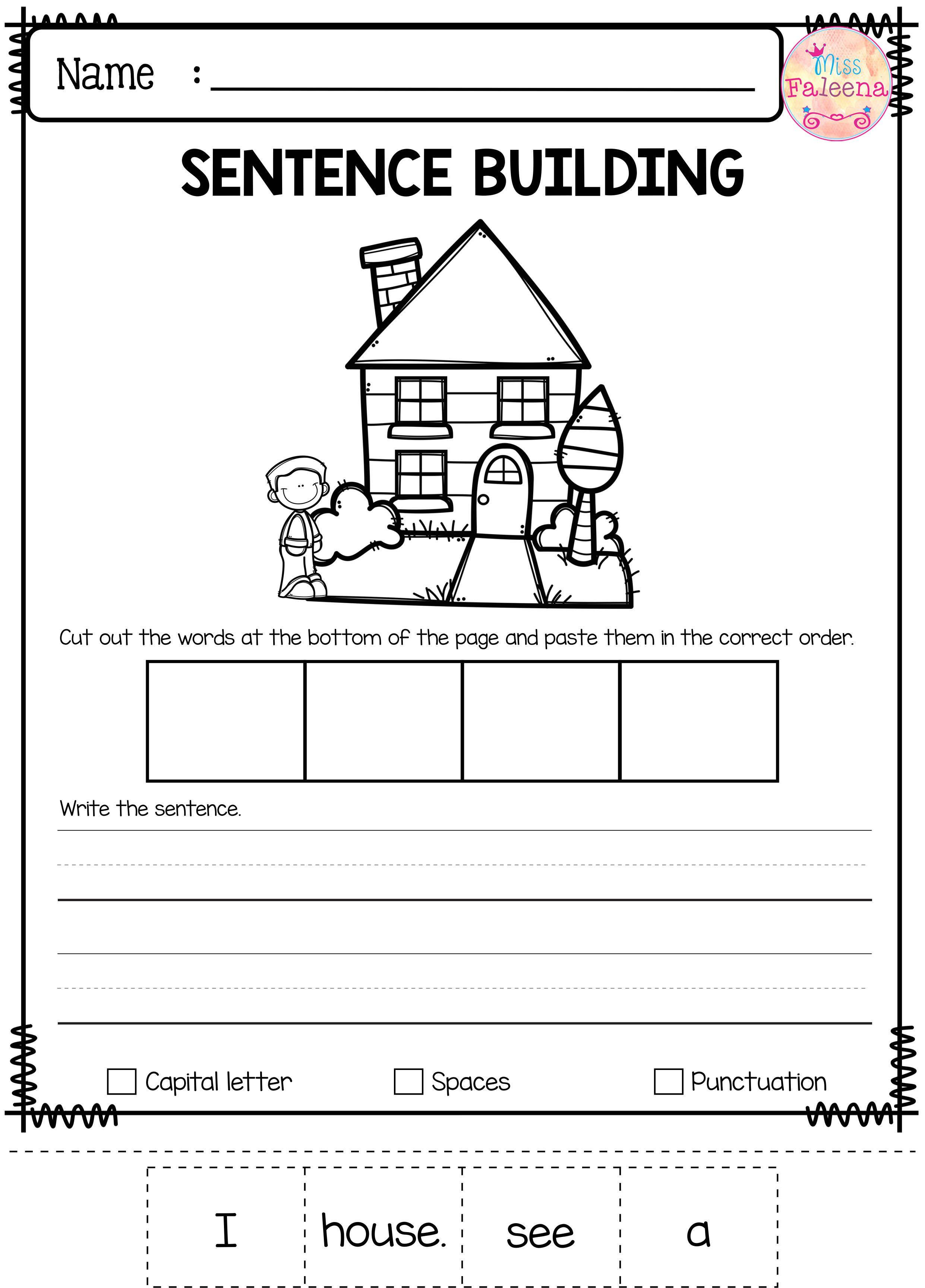 Free Sentence Building