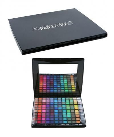 Kleancolor Pro Artistry 120 Shadow Set. These are all great dupes for Mac eye shadows