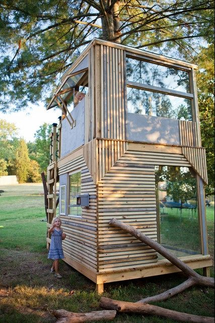 Modern Playhouse In Nashville Children S Spaces Play