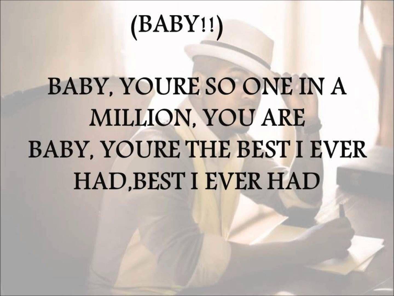 NE YO One In A Million Lyrics Ne Yo LyricsWedding SongsMusic