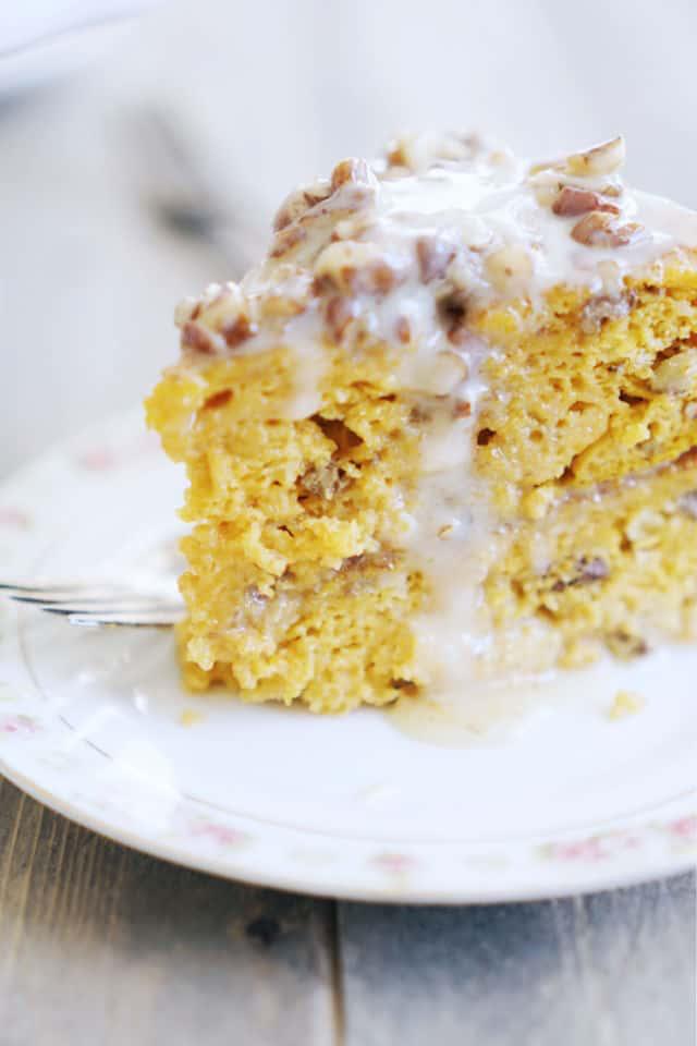 Pumpkin Praline Cake #pralinecake