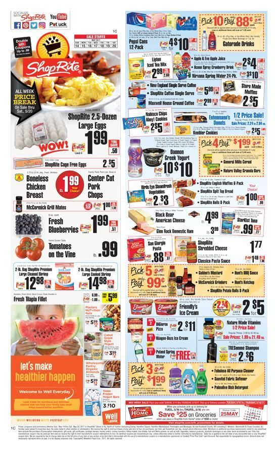 Latest Shoprite Weekly Circular Flyer this week and sunday andries.mlers can Explore Shoprite ads or Shoprite circular here to keep track of the discounts, promotions, coupons and deals offered by .