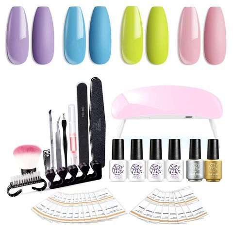 Want a Better At-Home Manicure? Then You're Going to Need One of These Gel Nail Kits