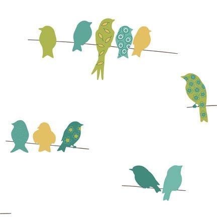 Sherwin Williams Easy Change Wallpaper Sw5bk839 Bird