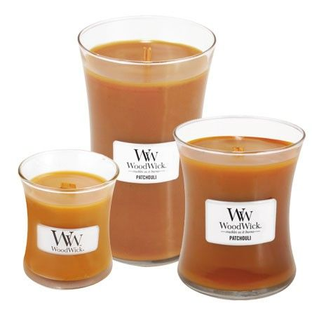 Patchouli WoodWick Candles These candles are really neat. Great ...