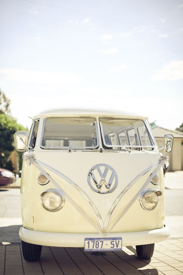 Vintage Adelaide Wedding | Bright colours, Bright and Vw