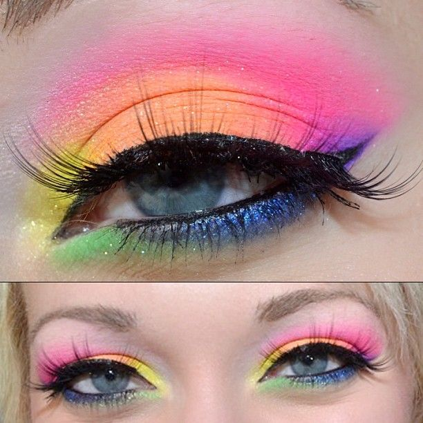 e9d4ba9d7c8 pride makeup | Makeup and nails | Sugarpill cosmetics, Eyeshadow ...