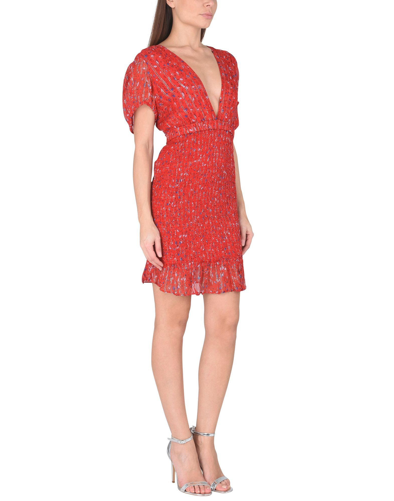 de85152842e4f Free People Baby Love Smocked Bodycon - Short Dress - Women Free People  Short Dresses online on YOOX United States - 34838551DQ