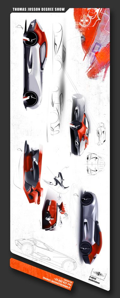 Portfolios Concept Cars Esquisse Voiture