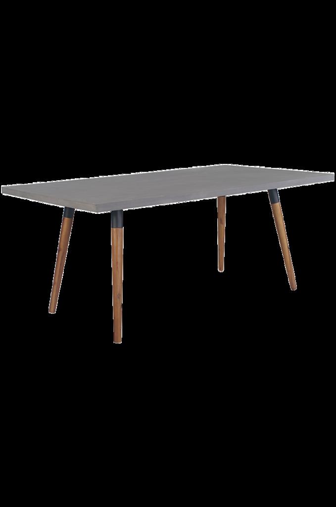 Lagos Tisch 180 Beton Teak Tisch Teak Betontisch