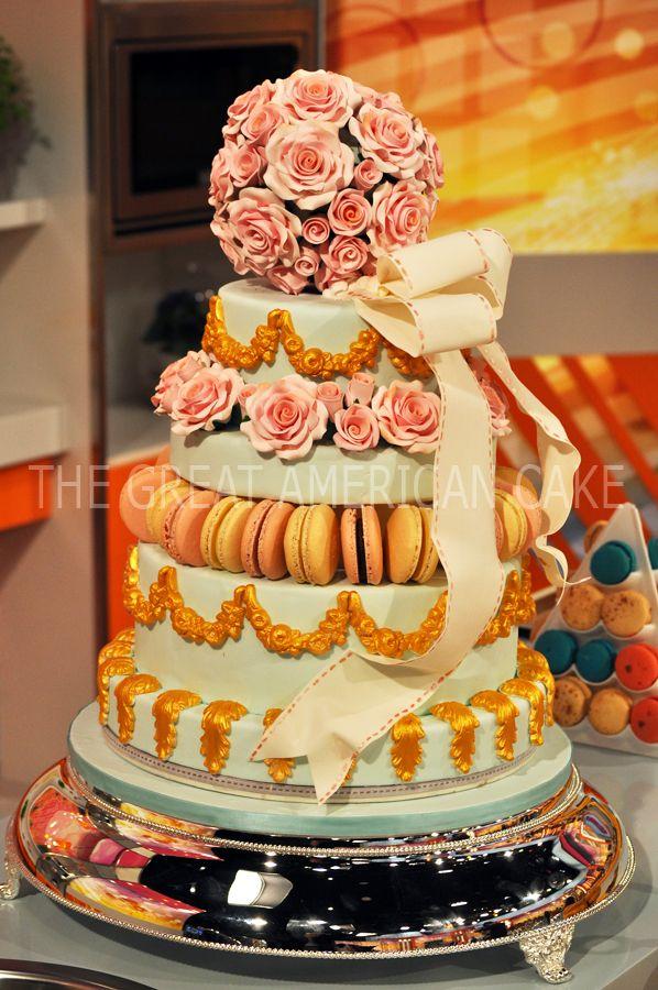 Luxury Wedding Cake by Julie Deffense | www.juliedeffense.com ...