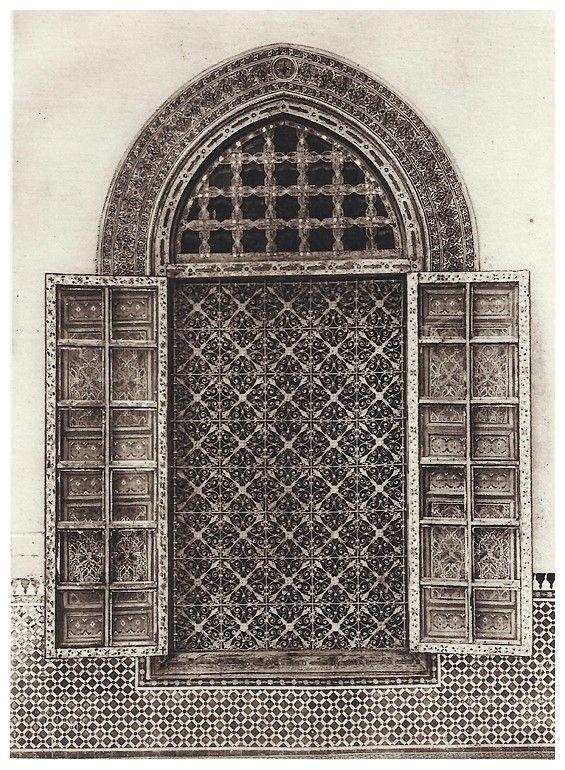 Le Jardin Et La Maison Arabes Au Maroc De Jean Gallotti Grille De