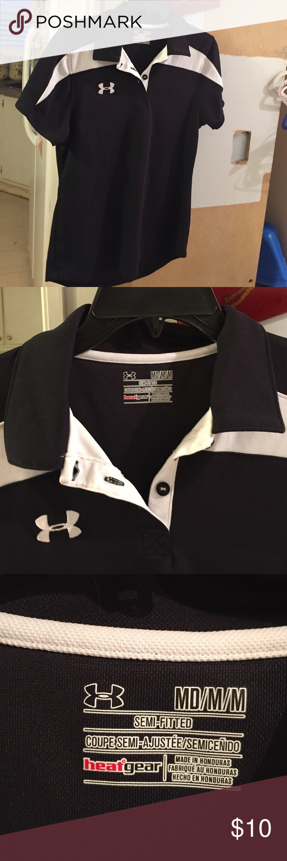 Lady's Polo Shirt Lady's polo shirt! In excellent condition! Under Armour Tops
