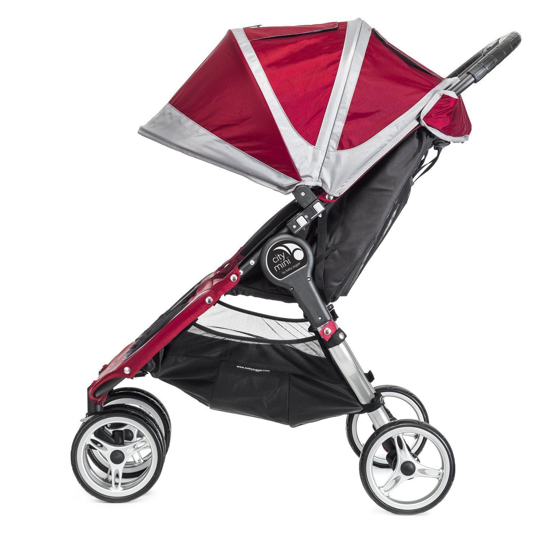 Amazon Baby Jogger City Mini Double Stroller Black Gray Discontinued
