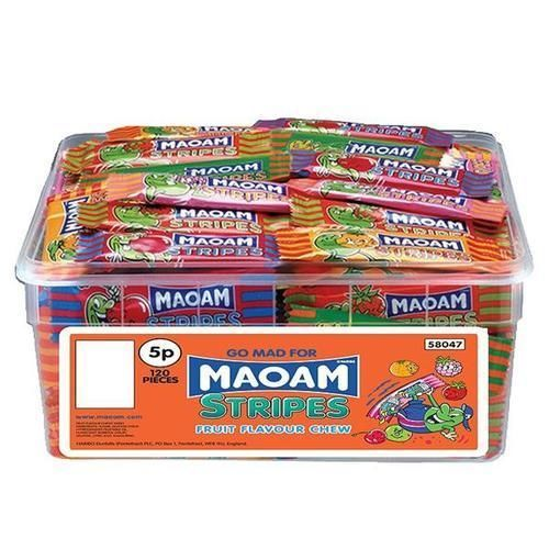 120 X Maoam Haribo Retro Sweetschildrens Wedding Favoursparty Bag Fillers
