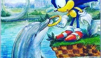 Interesting one by lastknownjin #segagenesis #microhobbit (o) http://ift.tt/1TqDKLF and Ecco! #sega #segasaturn  #segamastersystem #segadoeswhatnintendont #tails #rings #ring #love #ecco #dolphins