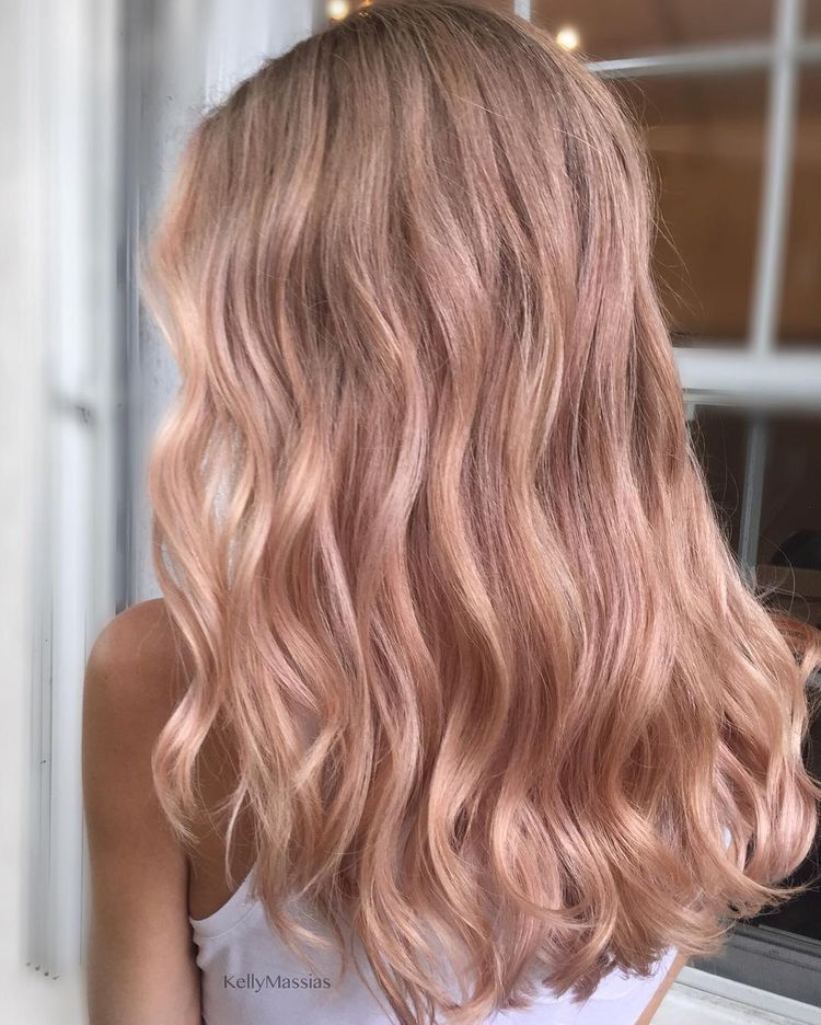 Gold Blonde Hair By Prinbs Beauty On Hair Inspo Rose Blonde