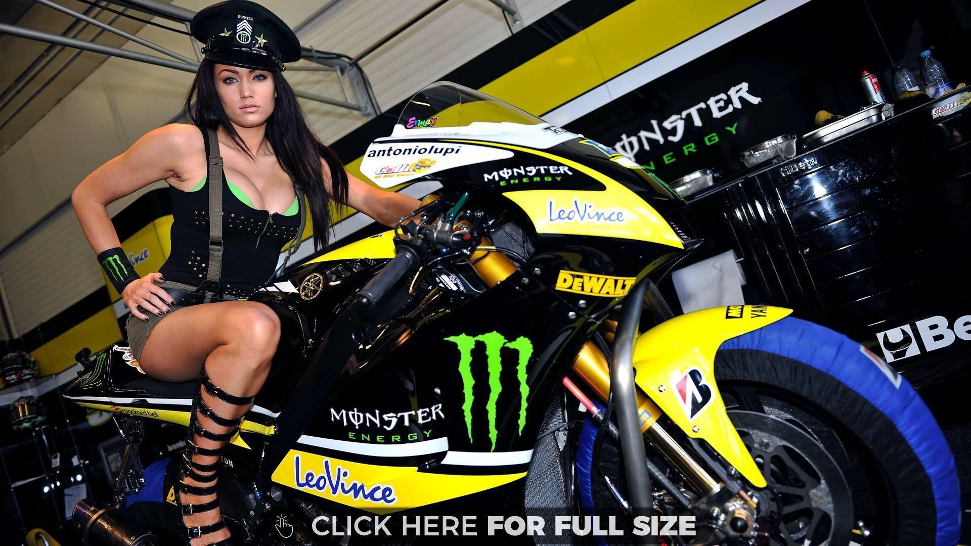 Monster Energy Wallpaper Bikes Monster Energy Girls Paddock
