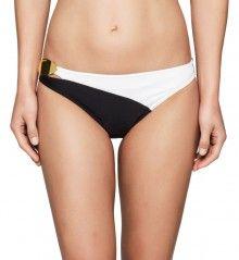 Calvin Klein černo-bílý spodní díl dvoudílných plavek Bikini - 1510 ... f4d3903690