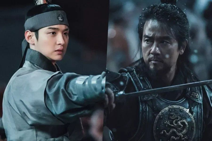 "Jang Dong Yoon And Kam Woo Sung Stun With Their Powerful Charisma In Upcoming Drama ""Joseon Exorcist"""