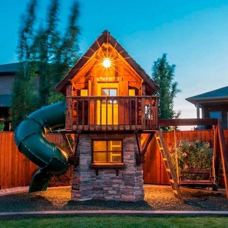 Backyard Playground, Luxury