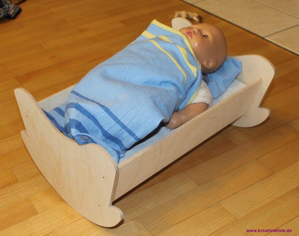 1-einfachespuppenbett-selber-bauen | kind | pinterest | puppen, bett
