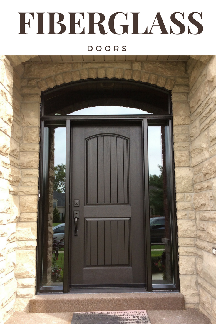 Fiberglass doors can make a major impact on your front porch they
