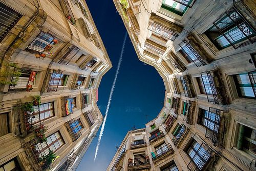 Barcelona  / Plaça rodona