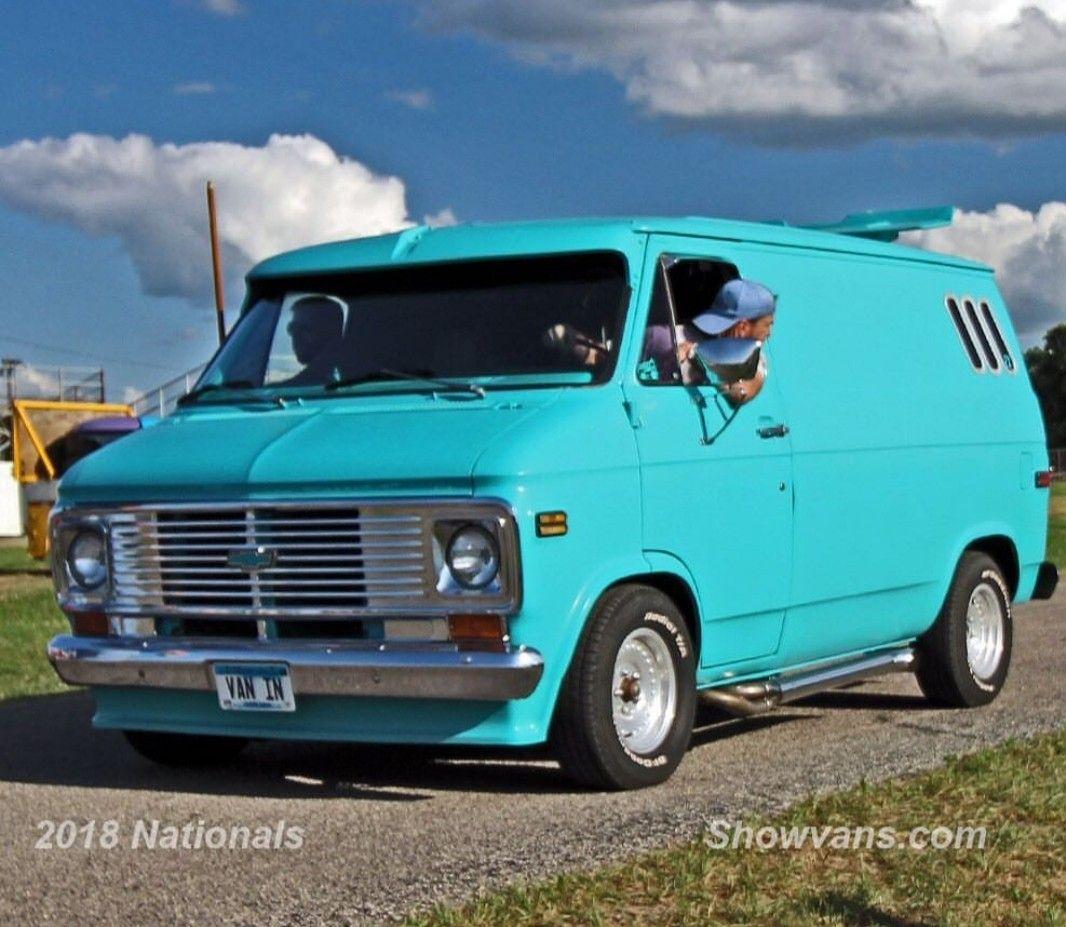 Pin By Disinfectech On Van Life Custom Vans Chevy Van Old