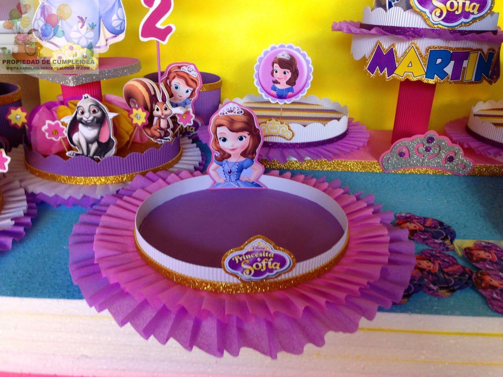 decoracion de fiesta princesita sofia buscar