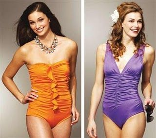 Great tutorial on making your own swimwear!