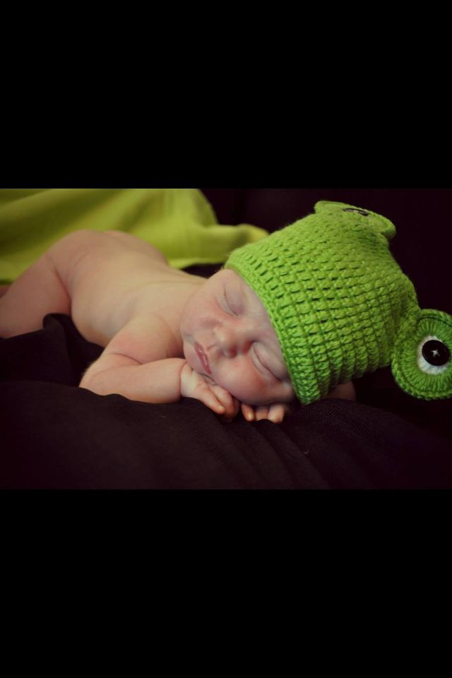 Frog baby picture❤