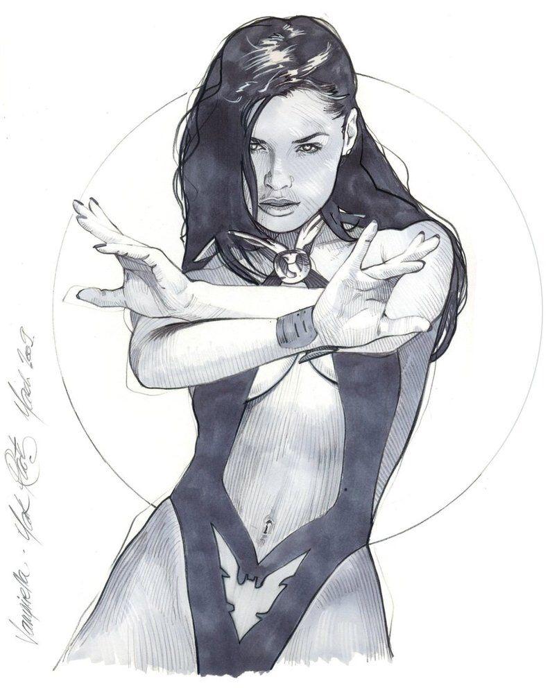 Vampirella - concept by MarkRaats on @DeviantArt